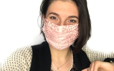 """Masque en soie rose contre le """"Maskné"""" !"""