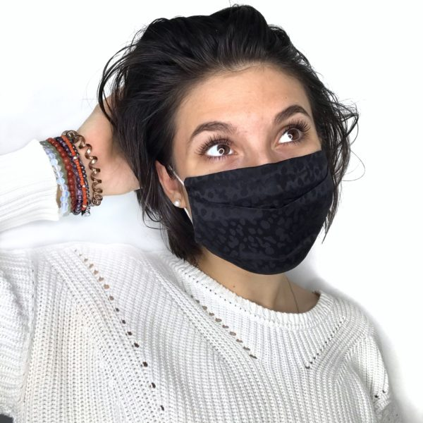 Masque en soie Acné Positive