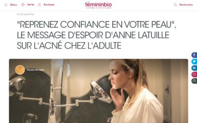 """""""Reprenez confiance en votre peau"""" : le message d'Anne Latuille"""