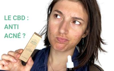 Le CBD : efficace contre l'acné ?